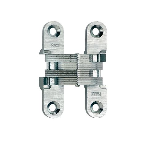 soss invisible hinge installation soss 1 2 in 2 3 8 in satin chrome invisible hinge
