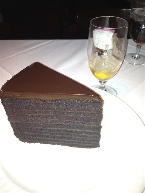 strip house 24 layer chocolate cake the famous 24 layer chocolate cake at strip house in