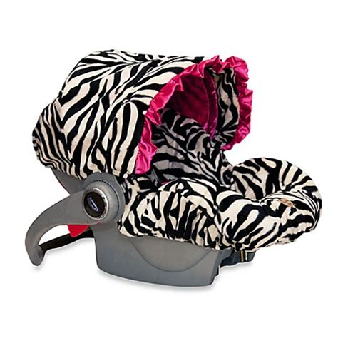 zebra print baby car seat covers baby infant car seat cover in zoe zebra bed