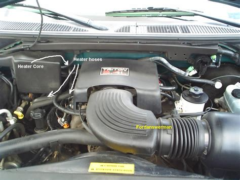 Air Radiator Coolant Toyota Galon 4l inlet heater hose 1997 ford expedition ford expedition forum