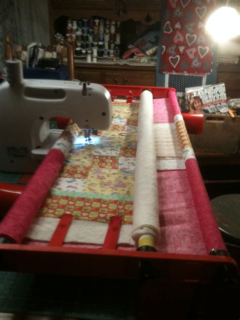 baby quilt flynn frame quilting