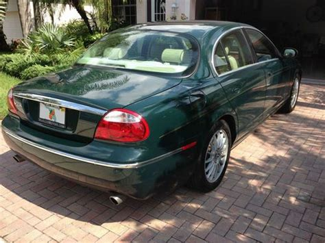 2007 jaguar s type for sale purchase used 2007 racing green jaguar s type in