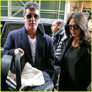 simon cowell and lauren silverman leave baby eric at home fashion blogs