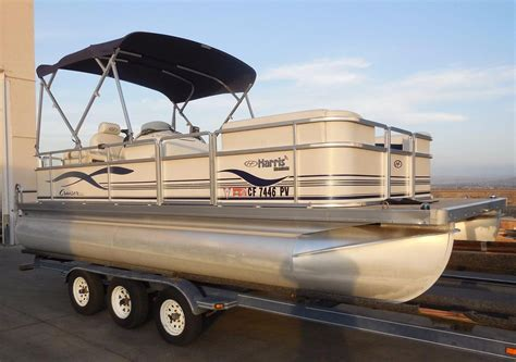 used pontoon boats for sale perris ca 2005 used harris kayot cruiser 200 pontoon boat for sale