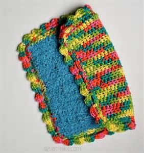 knitted scrubbies free pattern best 25 crochet dish scrubber ideas that you will like on