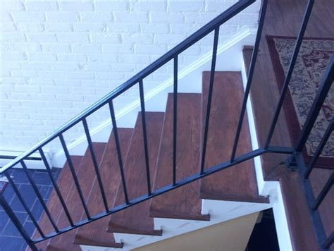 Replacing Banisters by Suggestions To Update Wrought Iron Stair Railing Without