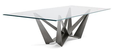 piedistalli per tavoli tavoli piano in vetro gambe protagoniste cose di casa
