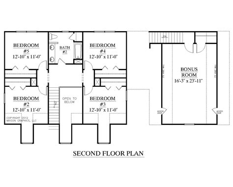 upstairs floor plans southern heritage home designs house plan 2341 b the montgomery quot b quot