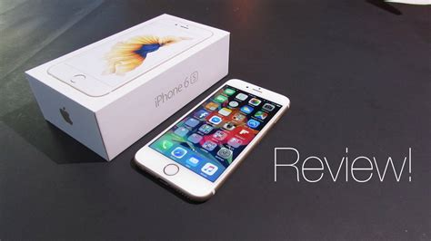review apple iphone 6s 64gb gold