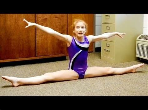 day one bedroom dancing youtube seven gymnastics girls splits tutorial youtube