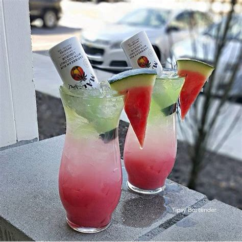 apple martini mix watermelon surprise watermelon mixer lemonade malibu