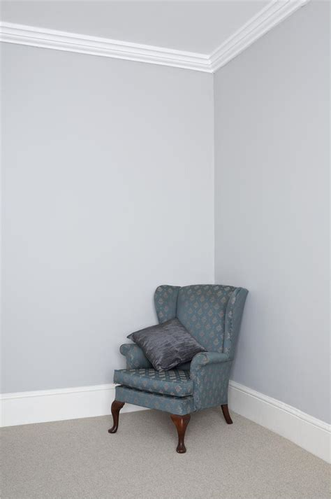 Grey Walls With White Trim