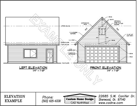 Shed Style House garage plan g4228c