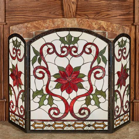 celyn decorative fireplace screen
