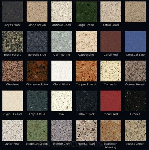 zodiaq quartz colors dupont zodiaq colors from united states stonecontact