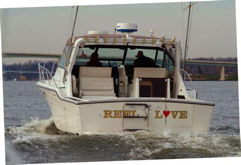 boat graphics annapolis custom vinyl decals custom law sticks boat numbers
