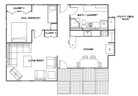 fema trailer floor plan katrina cottage plans dc park model homes floor plans on