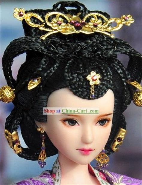traditional chinese hair ancient chinese empress hair accessories and wig jade
