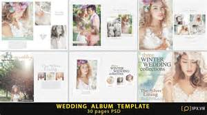 Wedding Album Templates by Wedding Album Template 30 Pages Psd Free 1px Vn
