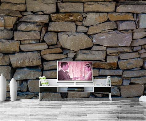 custom texture stones wallpaper papel de parede ktv bar