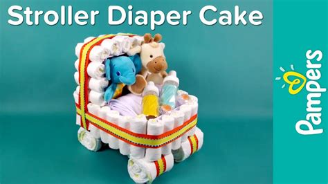 diaper bathtub instructions diaper cake ideas stroller diaper cake pers baby