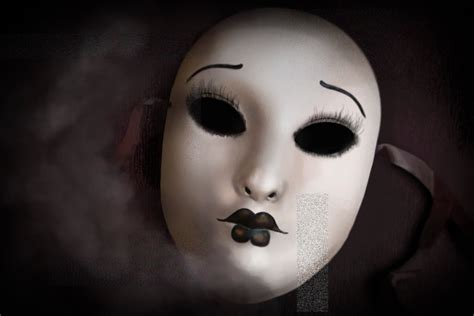 porcelain doll shop near me doll mask by justinwharton on deviantart
