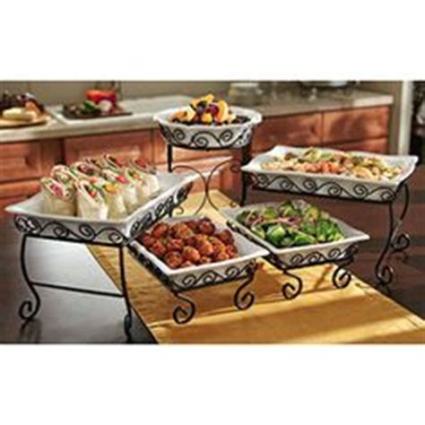 three tier buffet server tiered buffet server on display stands tj