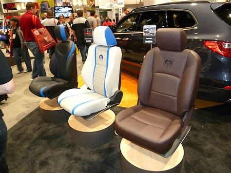 auto upholstery kit leather seat covers invade sema 2013