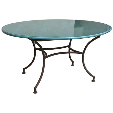 lava stone table top outdoor oval table with verdigris lava stone top at 1stdibs