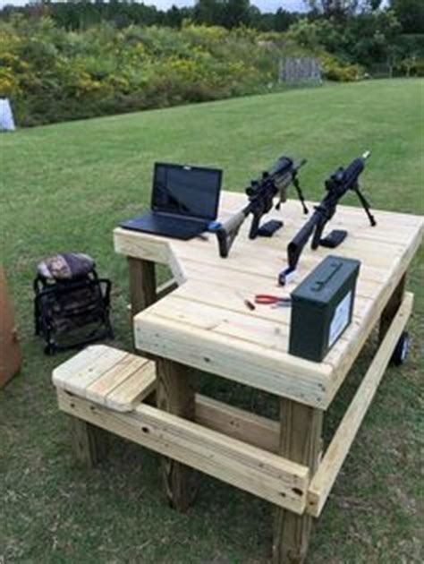 trigger happy shooting bench cinder block bench do you think of my new shooting
