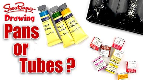 best tube s what s best for watercolour painting pans or tubes