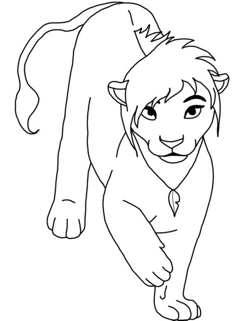 free coloring pages of the lion king 10