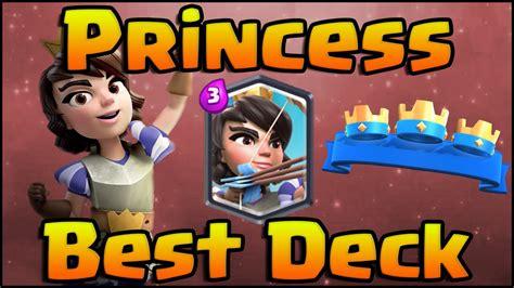 clash royale best princess decks and strategy for arena 7 arena 8 hog rider deck royal