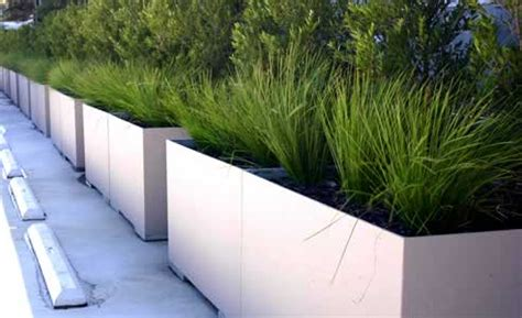 Lightweight Planter Boxes by Lightweight Concrete Planter Boxes By Mascot Engineering