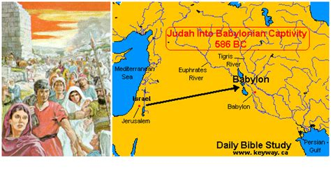 babylon and jerusalem map map exile to babylon search the book of daniel