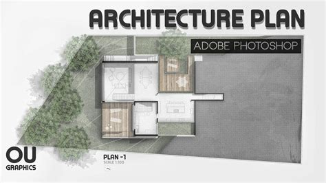 architect plans easy architecture plan in adobe photoshop