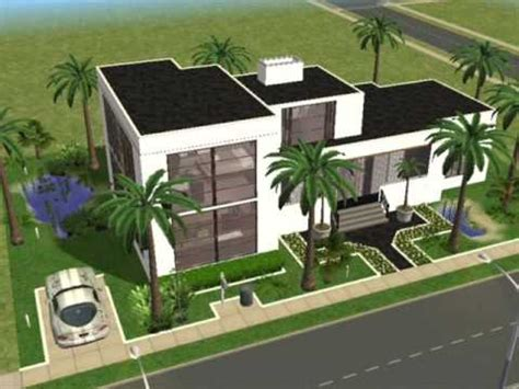 modern house floor plans sims 3 ultra modern house plans sims 3 home design and style