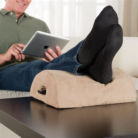 The Coffee Table Footrest Hammacher Schlemmer Coffee Table Footrest