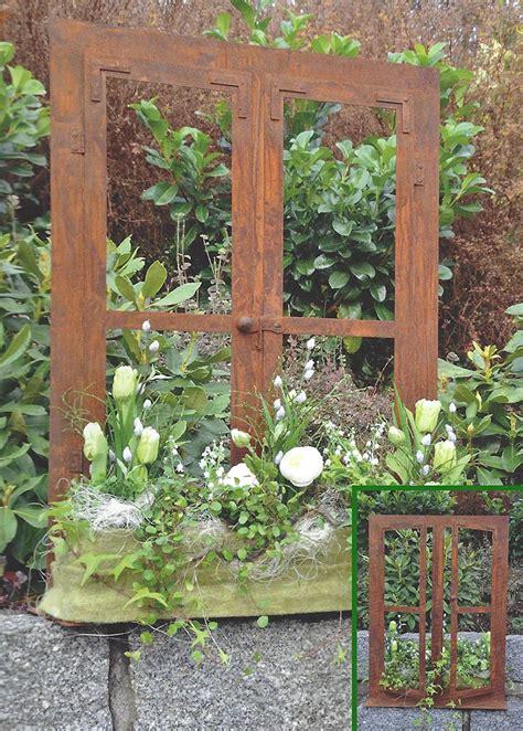 Rost Deko Im Garten