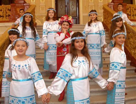 child in french ukrainian national children chorus quot pearls of odessa quot