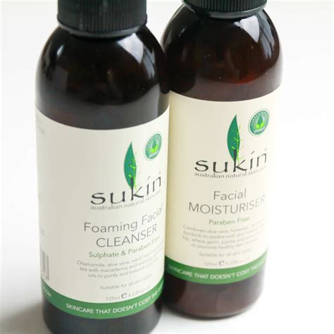 Sukin Foaming Cleanser sukin review foaming cleanser moisturiser