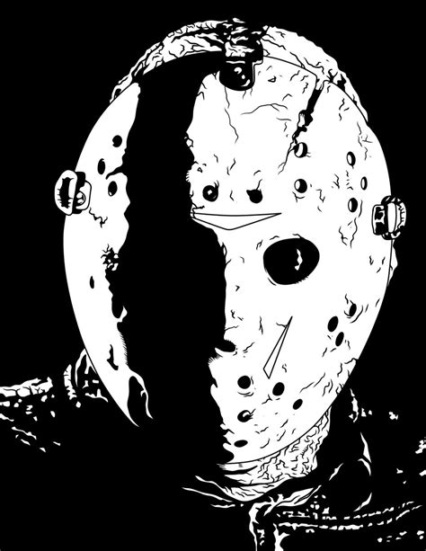 related keywords amp suggestions for jason voorhees stencil