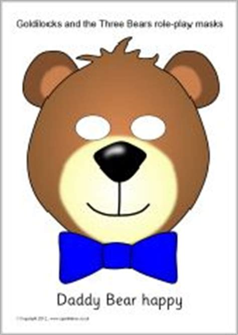 printable masks for goldilocks and the three bears 1000 images about goldilocks and the three bears on