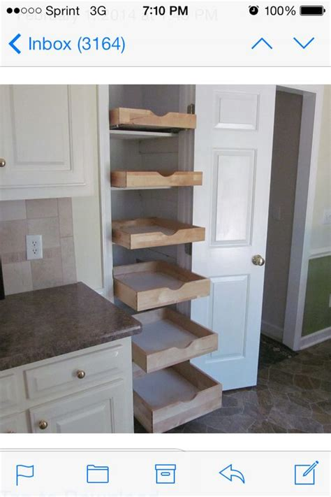 Turn Closet Into Pantry by Ezeglide Turn Your Broom Closet Into A Useful Storage