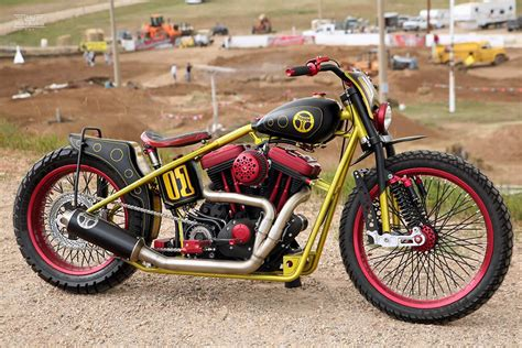 personalised motocross custom buell dirt tracker by todd s cycle