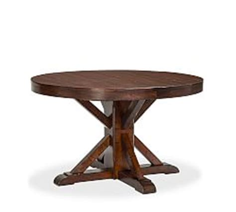 Benchwright Fixed Dining Table Oval Dining Tables Pottery Barn