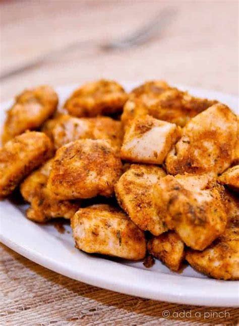 simple chicken nuggets recipe add a pinch
