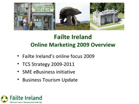 failte ireland hotel online marketing presentation
