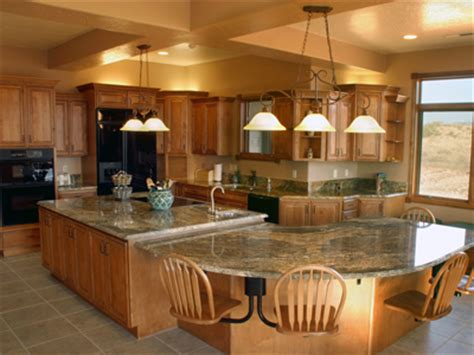 Large Kitchen Island Ideas Large Kitchen Island With Seating Homes Gallery