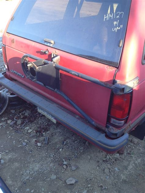 swing out blazer rear swingout tire carrier jeep forum